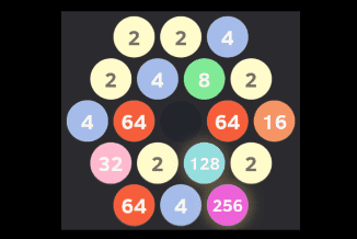 Play 2048 Hexagon Online